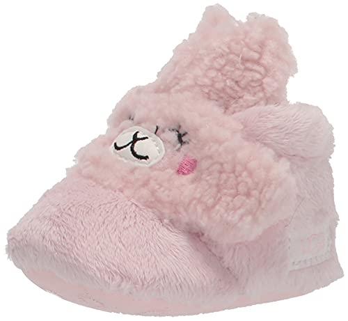 UGG Baby I BIXBEE Llama STUFFIE Fashion Boot, Seashell Pink, US 0-1 Unisex Infant