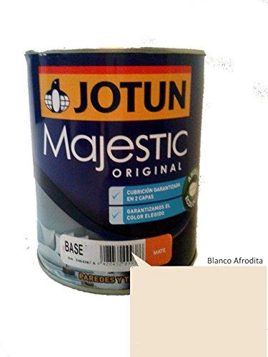 Pintura para interiores Majestic Original Mate (0.9 Lt., Blanco Afrodita)