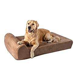 Big Barker Top Orthopedic Dog Bed