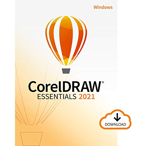 CorelDRAW Essentials 2021 | Ilustración, diseño de páginas y edición de fotografías | Essentials | 1 Dispositivo | 1 Usuario | PC | Código de activación PC enviado por email