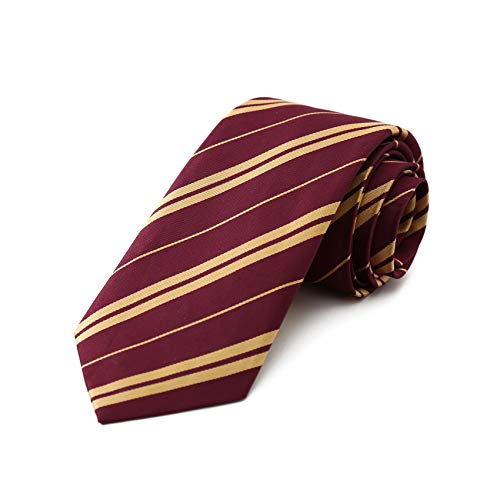 Wizard Tie Harry Costume - Maroon And Gold ...