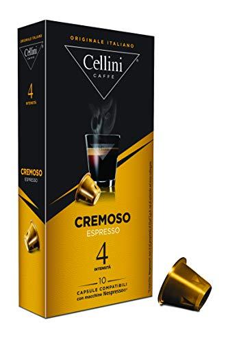 Cellini Espresso Cremoso 10 Kapseln, 5er Pack (5 x 50 g)