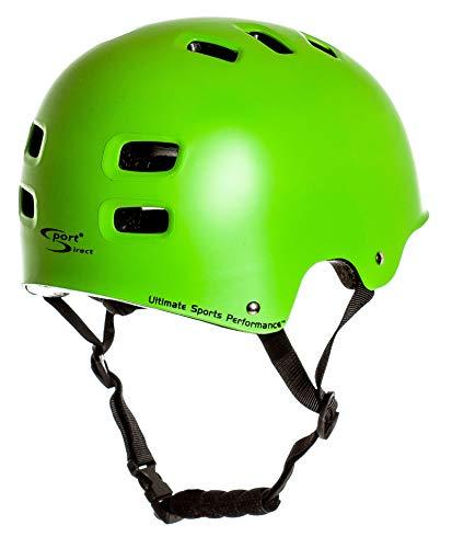 Sport DirectTM BMX-Skate Helm grün 55-58cm CE EN1078:2012+A1:2012 - 4