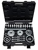 KS Tools 150.2250 - Herramientas para rodamientos de rueda (27 piezas)