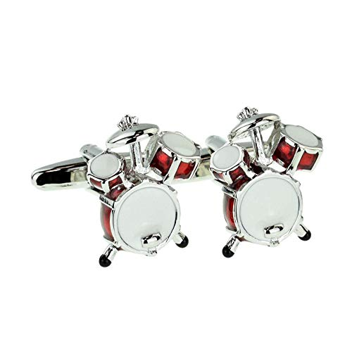 Red Drum Kit Cufflinks Presented in a Cuffinks Box