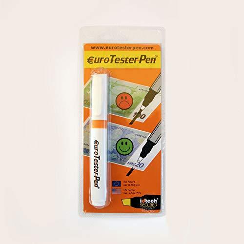 EURO TESTER PEN ® XL - Prüfstift Geldscheinprüfer (Patentierte Formel) funktioniert bei sämtlichen internationalen Währungen (Made in Italy) - WERBEANGEBOT 23% Rabatt-