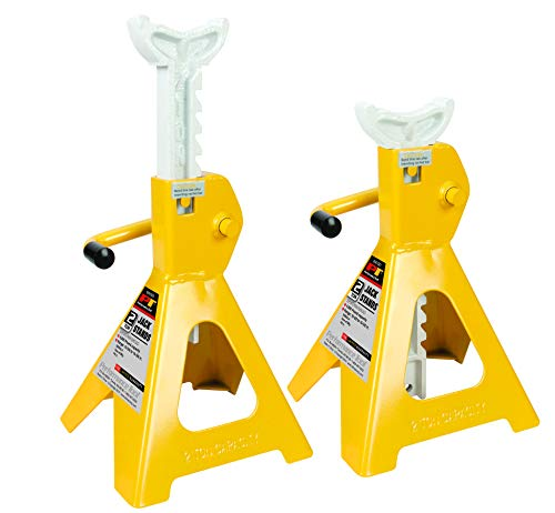 Performance Tool W41021 2 Ton (4,000 lbs.) Capacity Heavy Duty Jack Stand Set