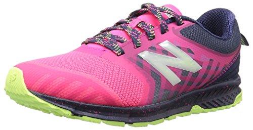 New Balance Kid's FuelCore Nitrel V3 Running Shoe, Pink/Grey, 6.5 Medium US Little Kid