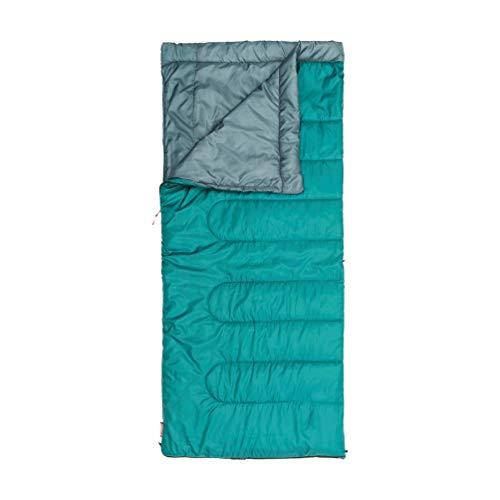 Talla 210 x 80 x 5 cm Coleman Schlafsack Durango Saco de Dormir Rectangular para Acampada