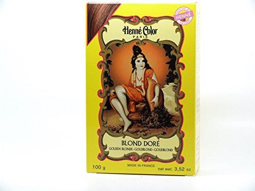 Henné Color Poudre Colorante Blond Doré 100g