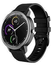 FunBand Compatibel met Garmin Vivoactive 3 riem, 20 mm zachte siliconen vervangende polsbandjes geschikt voor Garmin Vivoactive 3 muziek/Forerunner 645 muziek/Vivomove HR Smartwatch