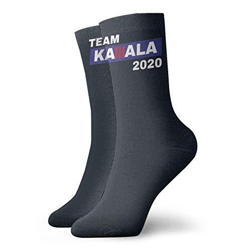 Lsjuee Team Kamala 2020 Unisex Crew Fashion Novedad Calcetines Calcetines de vestir Calcetines divertidos