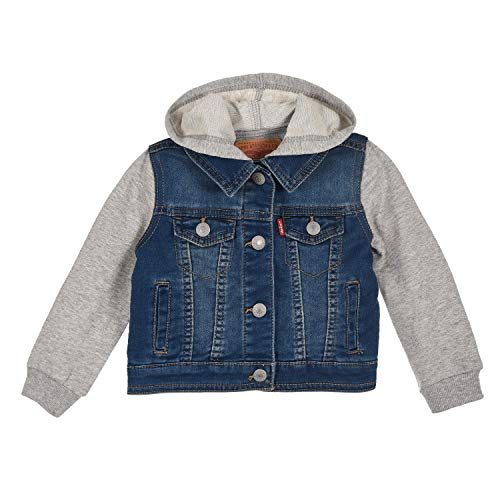 Levi's Kids Lvn Indigo Jacket Chaqueta Bebé-Niños Vintage Waters 6 meses
