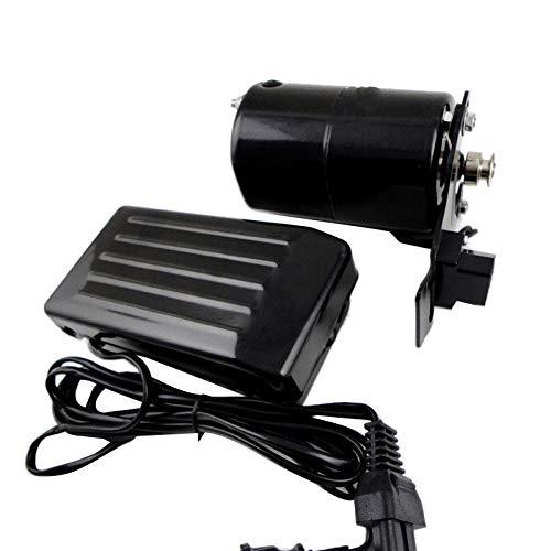 MOZUSA Máquina de Coser doméstica de 220V 180W 0.9A Motor 10000 RPM para máquina de Coser doméstico (Color : Black)