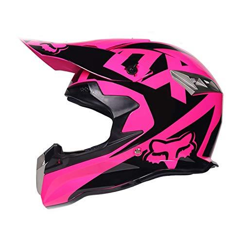 Casco De Seguridad Para Bicicleta De Montaña,DOT/ECE casco De Motocross,capacetes Motocross Buena Ventilación,Cruiser Chopper Moped transpirable,Hombres mujeres jóvenes F,S (55~56CM)