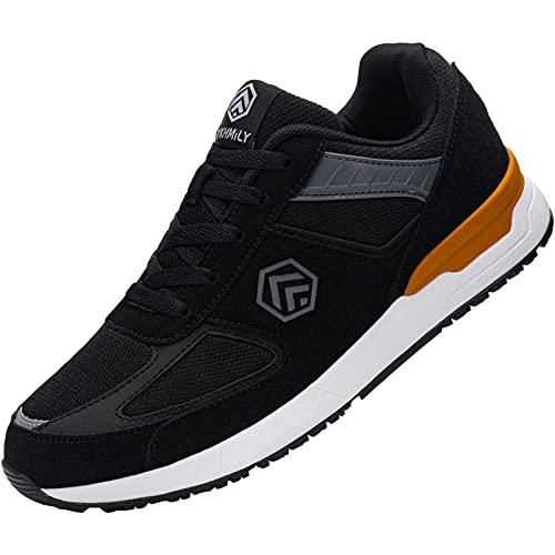 Fenlern Zapatillas de Seguridad Hombre S1 SRC Ligeras Zapatos de Trabajo Punta...