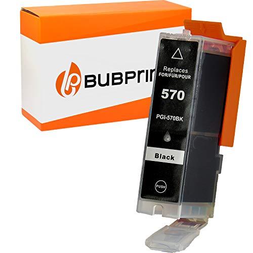 Bubprint Kompatibel Druckerpatrone als Ersatz für Canon PGI-570XL PGBK PGI 570XL für Pixma MG5750 MG5751 MG7750 TS5050 TS5051 TS6050 TS8050 TS8051 TS9050 Schwarz