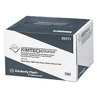 Kimtech 5511Precisionワイパー、ポップアップボックス、1-ply、42/ 5x 82/ 5、ホワイト、280/ BX、60BX/CT