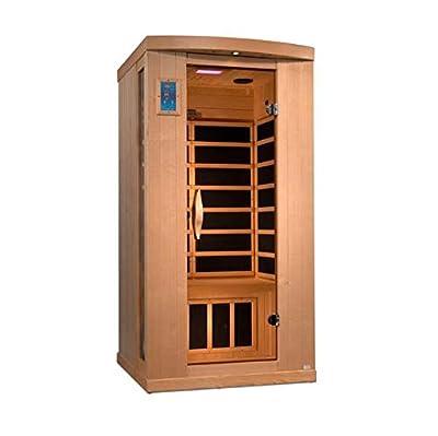 1 Person Reserve Edition Near Zero EMF Infrared Sauna GDI-8010-01
