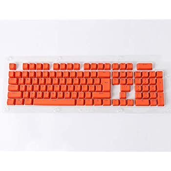 Color : Orange Keyboard keycaps Orange 9 Keys PBT Backlit Translucent Keycaps for MX Mechanical Keyboard