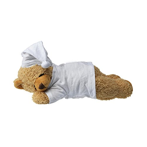 eBuyGB 1315206 slaapzak pluche teddy beer zacht schattig speelgoed cadeau, bruin, 9 inch