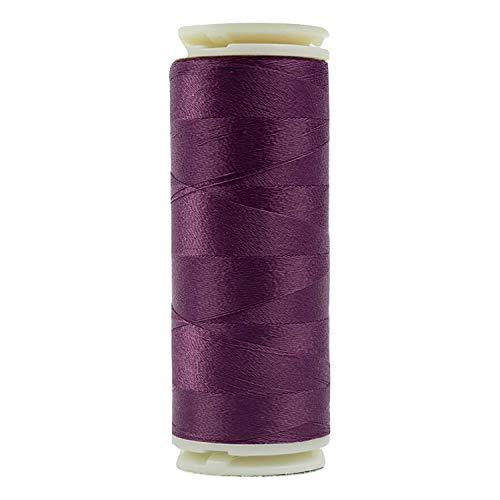WonderFil Invisafil Spezialgarn, 2-lagig, Baumwolle, weiches Polyester, 100 W, dunkle Farbtöne 400m Soft Purple