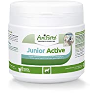 AniForte Junior Active 250g, Puppy Supplement for Developing Bones, Tendons, Ligaments & Teeth, With...