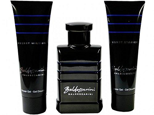 Baldessarini Secret Mission Geschenkset (Eau de Toilette, 50ml plus Shower Gel, 2 x 50ml), 1er Pack
