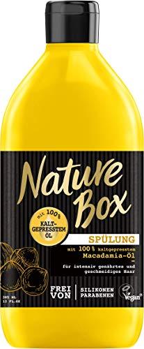 Nature Box Spülung Macadamia-Öl, 3er Pack (3 x 385 ml)