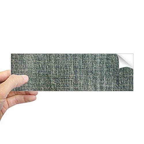 DIYthinker Denim Jean Cowboy Voering Textiel Rechthoek Bumper Sticker Notebook Window Decal