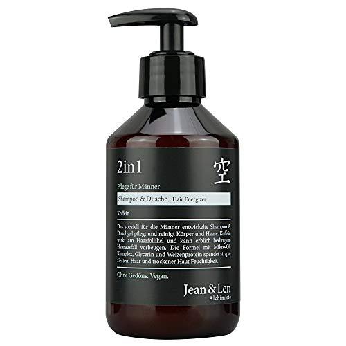 Jean & Len 2in1 Pflege für Männer, Shampoo/Dusche, 250 ml,