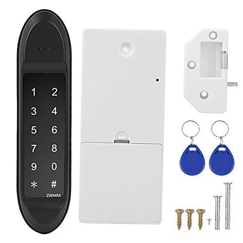 Asixxsix Cerradura de gabinete Bluetooth, Cerradura de Entrada sin Llave, Cerradura de Seguridad USB Digital para la Propiedad de Alquiler de Gimnasio en casa de Oficina