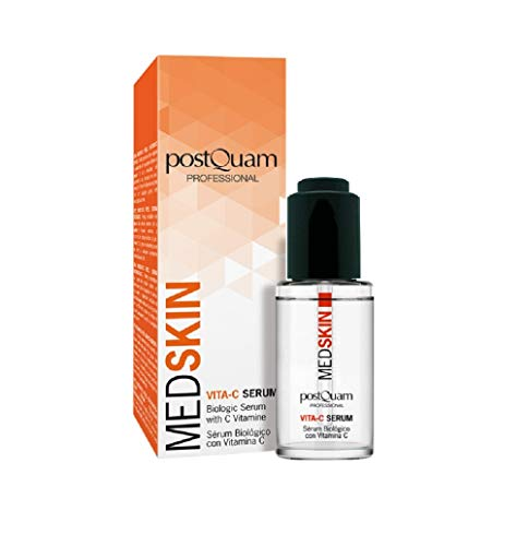 Postquam - Med Skin | Serum Vitamina C Facial Antioxidante e Iluminador - 30 Ml