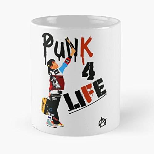 Desconocido Punky Retro Sitcoms Brewster Gbh Punk 80S Vintage Hardcore Taza de café con Leche 11 oz