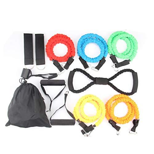 Hoge elasticiteit Trekkoord Fitness mannelijke Kracht Training Anti-brekende trekker Resistance touw Women's fitness elastisch touw Huishoudelijke elastische band Veiligheid