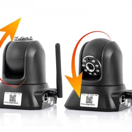 EasyN F3-M187 bekabelde/draadloos netwerk IP-camera en babymonitor webcam (ingebouwde IR-filter, P2P-functie, weergave op uw iOS- of Android-apparaten direct)