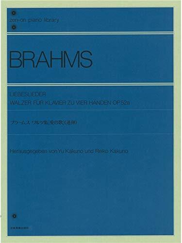 Liebeslieder-Walzer op.52a : für Klavier zu 4 Händen