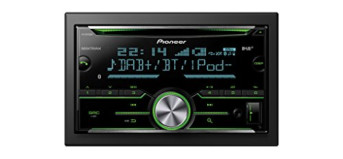 Pioneer FH-X840DAB Next Generation CD Tuner with Bluetooth, USB, DAB/DAB+...