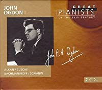 John Ogdon I: Great Pianists of the 20th Century, Vol. 72 (1999-02-09)