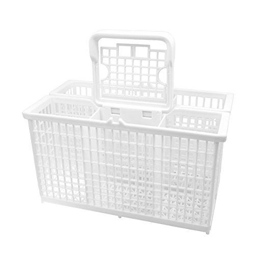 ✧WESSPER® Universal Besteckkorb für Spülmaschine Korb Geschirrspüler Edesa METAL-V031XM