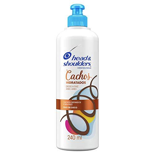 Creme Para Pentear Head & Shoulders Cachos Hidratados 240ml, Head & Shoulders