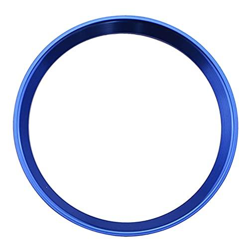 BaiShengJiang Pegatina de Ajuste de la Cubierta del Anillo del círculo del Volante del Coche/Ajuste para -Mercede Benz W169 A160 A200 A180 A220 A250 2016-2019 / (Color Name : Blue)