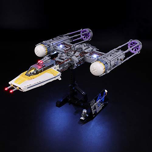 BRIKSMAX Led Beleuchtungsset für Lego Star Wars Y-Wing Starfighter, Kompatibel Mit Lego 75181 Bausteinen Modell - Ohne Lego Set