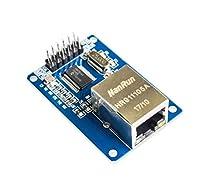 10個ENC28J60 LANイーサネットネットワークボードモジュール25MHZクリスタルAVR 51 LPC STM32 3.3V +