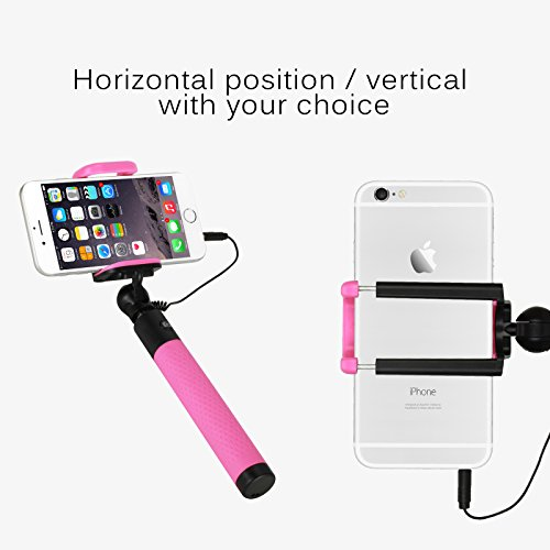 Telescopic Monopod Mini Selfie Stick for Android and iOS Smartphone