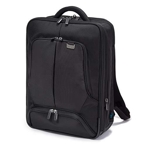 Dicota Backpack 15–17,3 Zoll PRO Rucksacktasche für Laptop, Computer & Tablet, Leichtgewichtige Laptoptasche, Schwarz, 52, N281214
