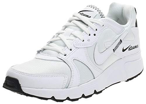 Nike Atsuma, Running Shoe Womens, Blanco/Negro, 38 EU