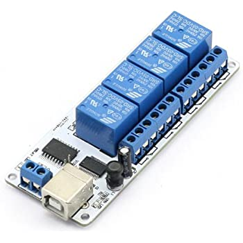 SainSmart USB 4 Channel Relay Automation (5V)