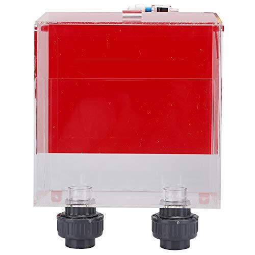 FILFEEL 𝐖𝐞𝐢𝐡𝐧𝐚𝐜𝐡𝐭𝐬𝐠𝐞𝐬𝐜𝐡𝐞𝐧𝐤 Auto Start Aquarium Overflow Box, roter Auto Fill Siphon Overflow, 5000L / H Überlaufkamm für Aquarium Tanks, Siphon Tanks