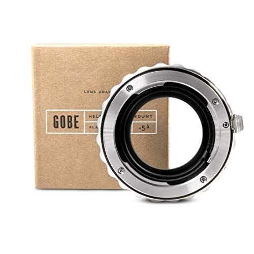 Gobe - Adaptador de Lentes Pentax DA para Cuerpo de cámara Micro Cuatro Tercios (M4/3)